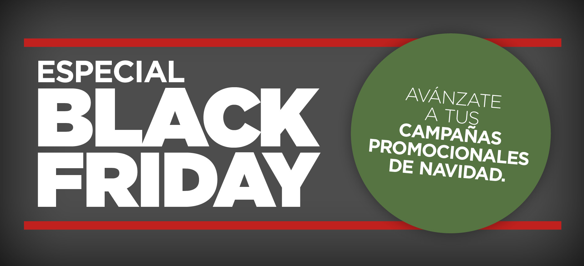 Regalo promocional black friday